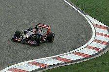 Formel 1 - Bockiger STR9 scheut das Wasser: Frust und Freude bei Toro Rosso