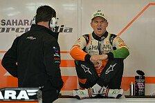 Formel 1 - Williams ein Dorn im Auge: H�lkenberg nach Krampf-Qualifying Achter