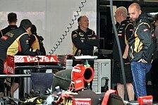 Formel 1 - Die Stoppuhr l�gt nicht: Lopez: Lotus zwei Sekunden schneller