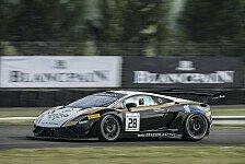 Blancpain GT Serien - Mittelmotoren geben Tempo vor: Nogaro: Bleekemolen in Bestform, Piquet dran