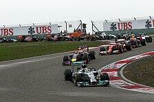 Formel 1 - Unglaublicher Silberpfeil: Hamilton: Flaggen-Verwirrung in Shanghai