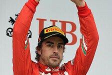 Formel 1 - Gro�es Gl�ck nach Kontakt mit Massa: Alonso zaubert Ferrari aufs Podest