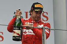 Formel 1 - Ein Ergebnis zum Genie�en: Alonso widmet Podestplatz Domenicali