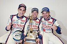 WEC - Erster Doppelsieg der Teamgeschichte: �berbordener Jubel bei Toyota