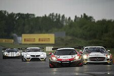Blancpain GT Serien - McLaren und Mercedes auf den Pl�tzen: Nass und trocken: Vanthoor im Warm-up vorne
