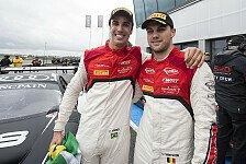 Blancpain GT Serien - Farnbacher nicht mehr dabei: Brands Hatch: Vanthoor im Audi am schnellsten
