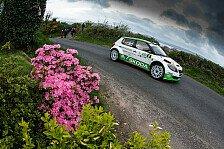Mehr Rallyes - Wiegand/Christian mit erstem Podiumsresultat: ERC: Skoda feiert Doppelsieg in Nordirland