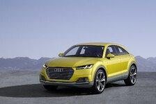 Auto - Sportlichkeit eines Coup�s und Nutzwert eines SUV: Das Showcar Audi TT offroad concept