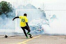 Mehr Motorsport - Video: Ken Block und Neymar spielen Footkhana