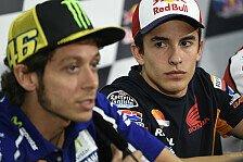 MotoGP - Reihe eins ideale Ausgangsposition: Rossi: Marc ist ein Bastard