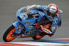 Moto3 - �ttl auf Platz 15: 1. Training: Rins sticht Miller aus