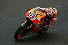 MotoGP - Reifensparen f�r das restliche Wochenende: Marquez opferte erstes Training