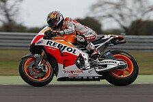 MotoGP - Optimismus dank guten Rennsetups: Pedrosa: Startplatz drei trotz Fehler
