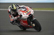 MotoGP - Wildcard-Pilot Pirro f�hlt sich immer wohler: Hernandez l�sst Iannone hinter sich
