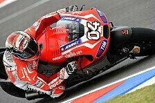 MotoGP - Ruhige Nacht nach gro�er Setup-Verbesserung: Ducati: Dovizioso top, Pirro flop