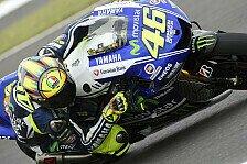 MotoGP - Er hat mich von der Strecke gedr�ngt: Rossi gibt Bradl Schuld an verpasstem Podium