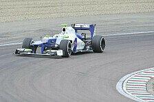 Formel 1 - Feuertaufe bestanden: De Silvestro absolviert ersten Sauber-Test