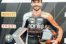 Superbike - Exzellentes Resultat: Aprilia: Guintoli verpasst Pole-Position knapp