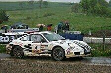 DRM - Rallye voller Unw�gbarkeiten: F�nfter Saisonsieg f�r Ruben Zeltner im Porsche