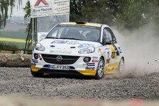ADAC Opel Rallye Cup - N�chster Triumph f�r den Opel Adam R2: Doppelsieg f�r das ADAC Opel Rallye Junior Team