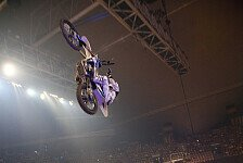 NIGHT of the JUMPs - Spannung in Mannheim : Das Finale der FMX Europameisterschaft