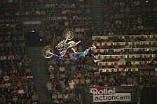 NIGHT of the JUMPs - Luc Ackermann pr�sentiert Weltpremiere in M�nchen: Maikel Melero triumphiert