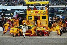 NASCAR - Gordon erneut knapp geschlagen: Logano gewinnt dramatisches Finale