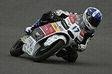 Moto3 - Halbnasse Verh�ltnisse bringen �ttl auf Platz zehn: McPhee f�hrt das Warm-Up an