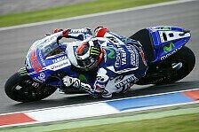 MotoGP - Sind nicht in Bestform: Rang drei das Maximum f�r Lorenzo