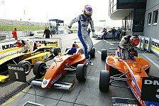 ADAC Formel Masters - Vier M�cke-Piloten in den Top Ten der Gesamtwertung: M�cke Motorsport: Sehr guter Auftakt