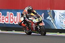 MotoGP - Die Bestzeiten im Vergleich: Argentinien: Die deutschen Fahrer im Check