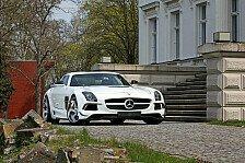 Auto - SGA Aerodynamics versch�nert den SLS: Mercedes SLS Black-Series f�r alle