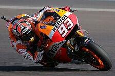 MotoGP - Sturzreiche Session in Jerez: Marquez schl�gt im zweiten Training zur�ck