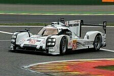 WEC - Tests f�r Teil zwei der WEC: Porsche testet High-Downforce-Package