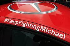 Formel 1 - #KeepFightingMichael: Schumacher in Hockenheim allgegenw�rtig