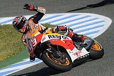 MotoGP - Ein Hammer in letzter Sekunde: Marquez: Pole und Streckenrekord