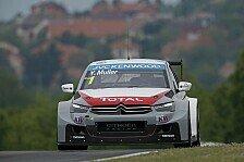 WTCC - Nichts Neues in Ungarn: Citroen wieder auf Pole: Muller vor Lopez