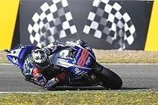 MotoGP - Bradl hinter Rossi auf P4: Lorenzo im Warm Up vor Marquez