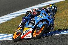 Moto3 - Frankreich gr��t mit Sonnenschein: Marquez �bernimmt die F�hrung in Le Mans