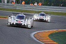WEC - Zwischenf�lle kosten Zeit: Porsche 919 Hybrid wird Vierter in Spa