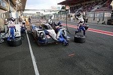 24 h von Le Mans - Alle sieben Hybride binnen zwei Sekunden: Toyota-Doppelspitze am Testtag