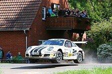 DRM - Armin Holz greift nach F�hrung im ADAC Rallye Masters: Duell der Porsche-Ehepaare in Th�ringen
