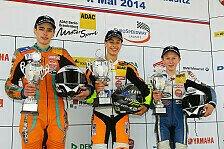 ADAC Junior Cup - Lukas Tulovic gewinnt den Saisonauftakt: Erster Sieger im ADAC Junior Cup powered by KTM