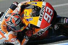 MotoGP - Rossi setzt sich gegen Pedrosa und Lorenzo durch: Marquez dominiert Konkurrenz im Jerez-GP
