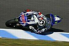 MotoGP - Rossi f�hlt sich gut: Lorenzo macht interessante Erfahrungen in Jerez