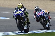 MotoGP - Aktuell st�rker als Lorenzo: Rossi wieder Nummer 1 bei Yamaha