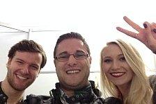 DTM - Jeder kann fotografieren!: Blog - Die besten DTM-Selfies aus Hockenheim
