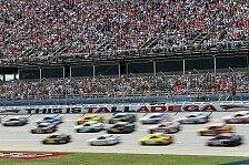 NASCAR - Drei Big One beim Highspeed-Spektakel in Talladega: Erster Superspeedway-Sieg f�r Hamlin