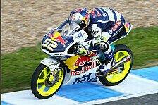 Moto3 - Brite Kent f�hrt Silverstone-Bestzeit: Bestzeit f�r Kent, Probleme f�r Miller