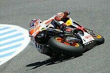 MotoGP - Weltmeister f�hrt auch beim Test Bestzeit: Marquez & Pedrosa suchen Steigerung